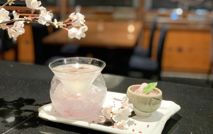 Azuma Sakura Cocktail